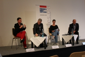 FES Podiumsdiskussion Marburg